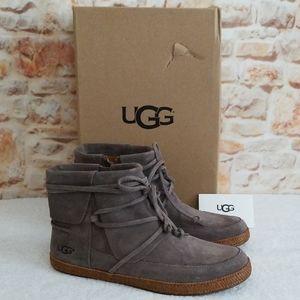 UGG Shoes - New Ugg Reid Suede Bootie